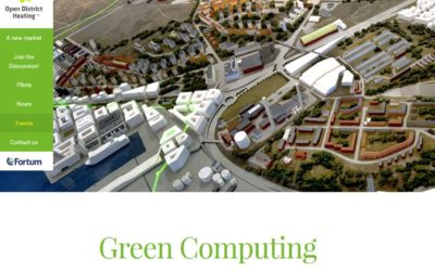 Green Computing event in Stockholm 23/9/2015